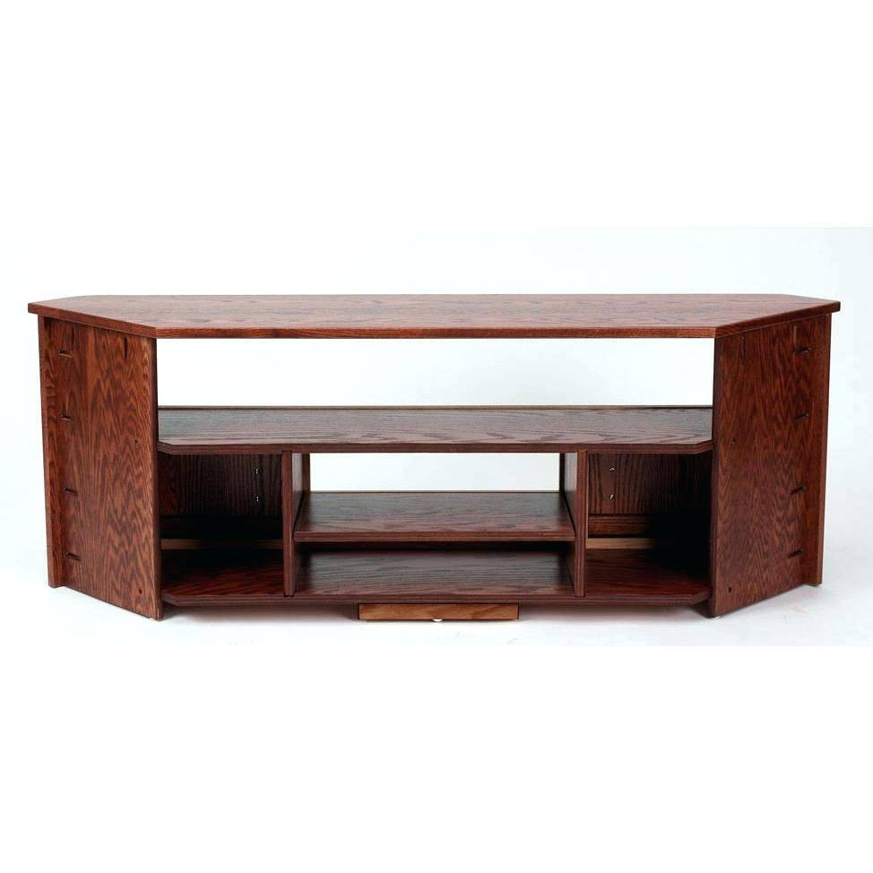 Tv Stand : Corner Tv Stand Corner Tv Stand Tv Stand For Living In Corner Oak Tv Stands For Flat Screen (View 10 of 15)