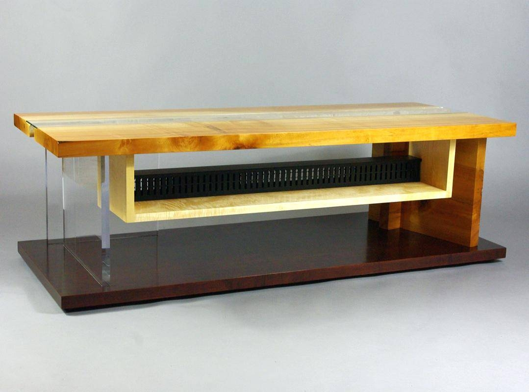 Tv Stand: Cozy Tv Stand On Rollers For Room Ideas. Tv Stand Design inside Maple Tv Stands (Image 10 of 15)