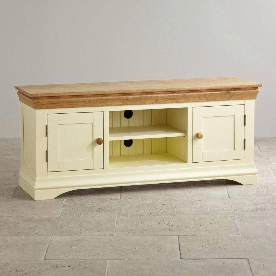Tv Stand : Custom Delivery Country Cottage Natural Oak And Painted with Country Style Tv Cabinets (Image 12 of 15)