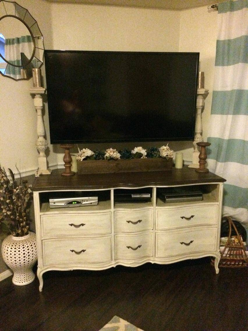 Tv Stand : Dresser Tv Stand Combo 15 Tv Stand For Living Space Inside Dresser And Tv Stands Combination (View 6 of 15)