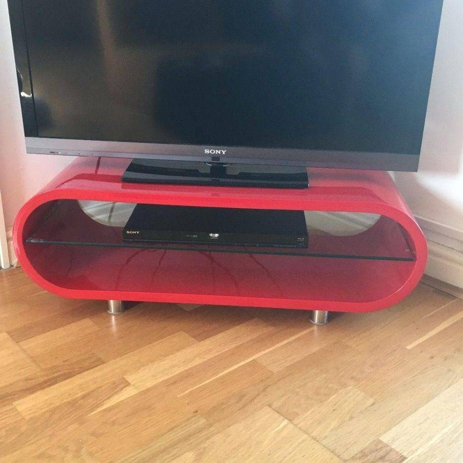 Tv Stand : Dwell Red Tv Stand Great Condition Cash And Collection With Regard To Dwell Tv Stands (View 15 of 15)