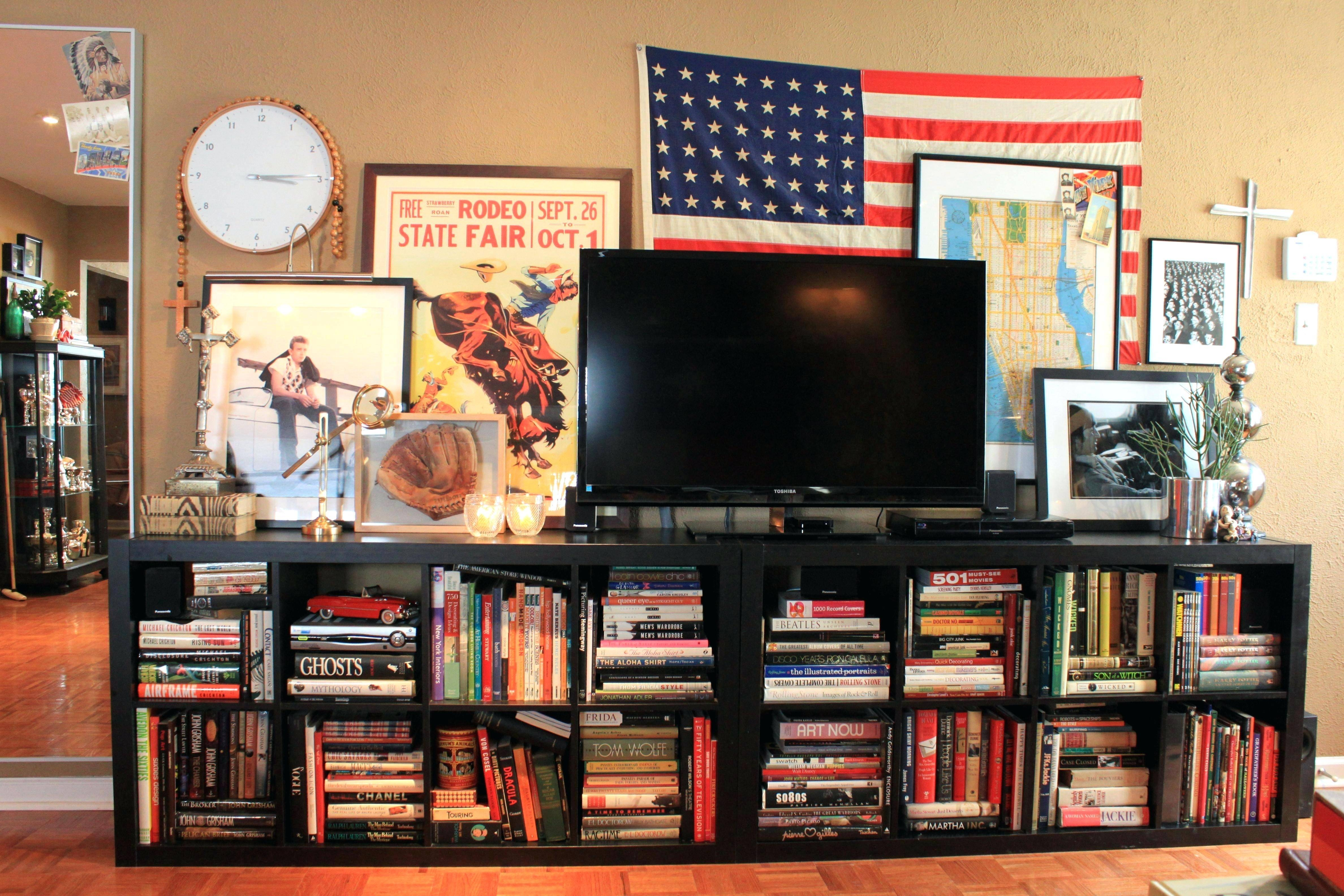 Tv Stand: Enchanting Tv Stand Bookshelf Combo Images (View 6 of 15)