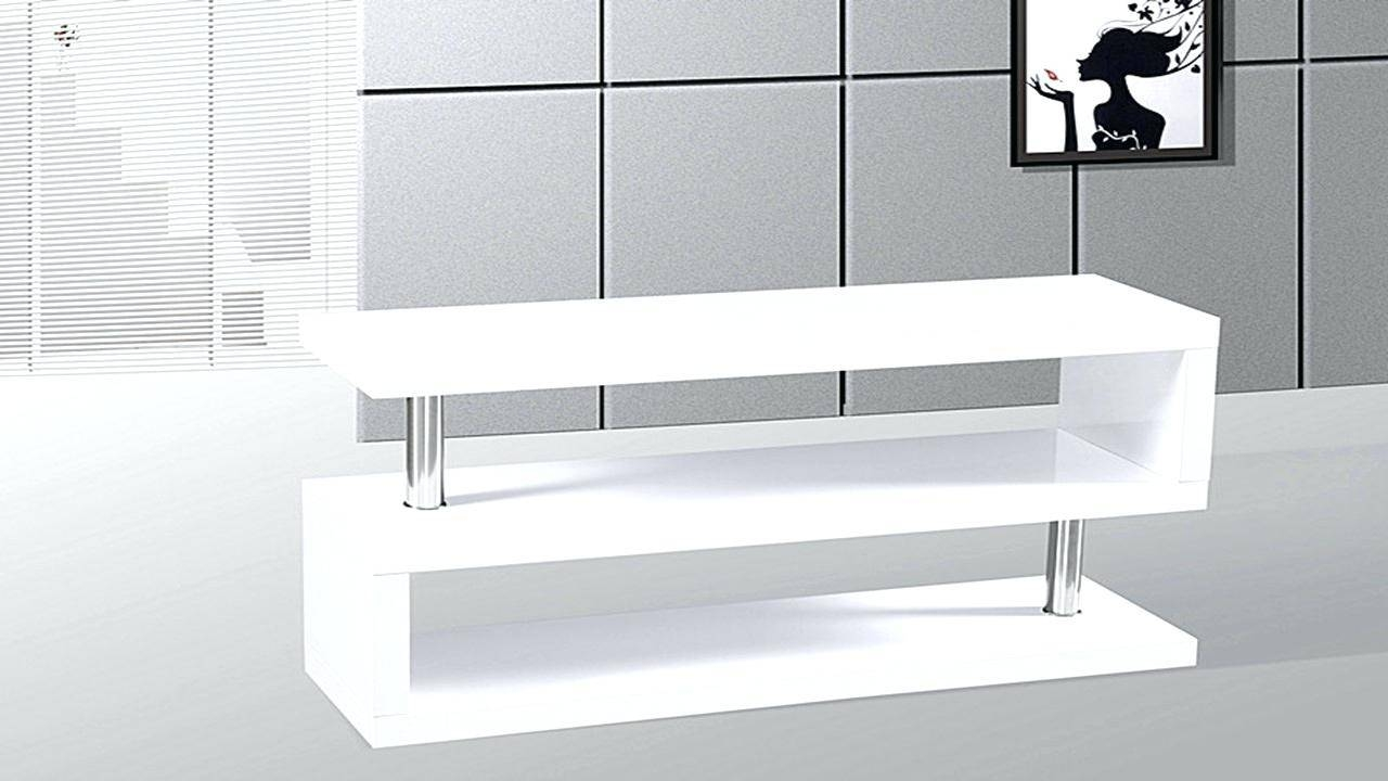 Tv Stand: Ergonomic Gloss White Tv Stand Images (View 12 of 15)