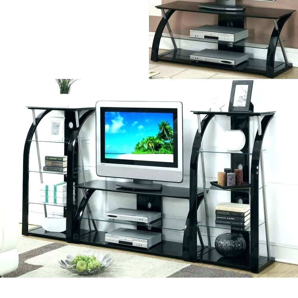 Tv Stand: Ergonomic Silver Corner Tv Stand For Home Space (View 11 of 15)