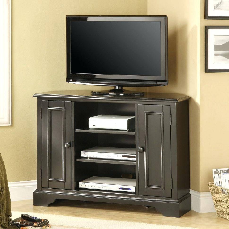 Tv Stand : Ergonomic Tv Stands From Walmart Sauder August Hill Tv for Tv Stands for Large Tvs (Image 8 of 15)