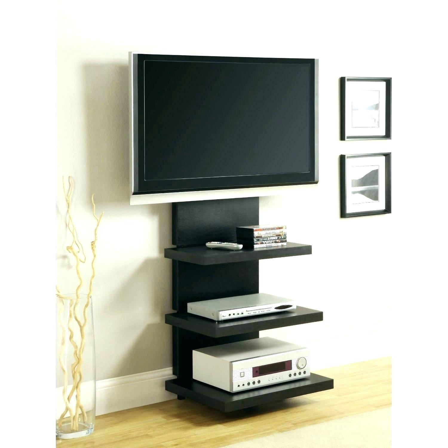 Tv Stand : Excellent Corner Tv Mount And Shelves 132 Bedroom within Unusual Tv Cabinets (Image 11 of 15)