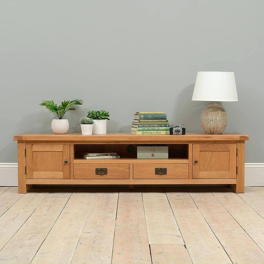 Tv Stand : Extra Wide Oak Tv Stand 119 Splendid Large Size Of Tv in 100Cm Tv Stands (Image 12 of 15)