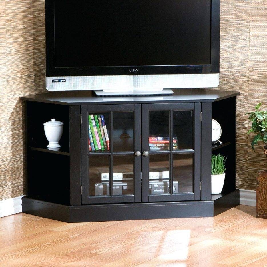 Tv Stand : Fancy Tv Stand Cabinet Design 85 With Designfancy Glass Intended For Corner Tv Tables Stands (View 15 of 15)