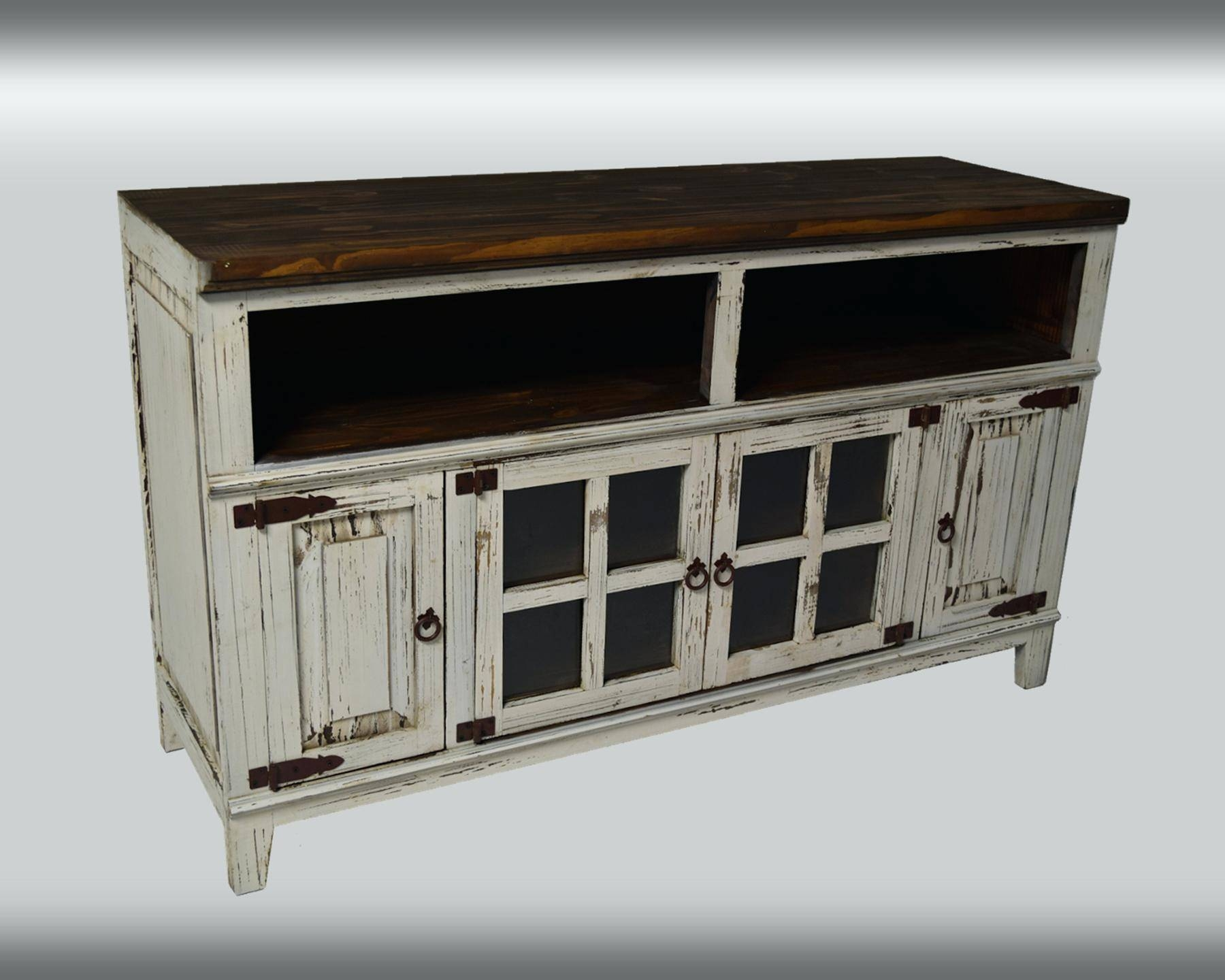 Tv Stand : Farmhouse Tv Console Media Console Rustic Tv Stand Tv with regard to Rustic Tv Cabinets (Image 11 of 15)