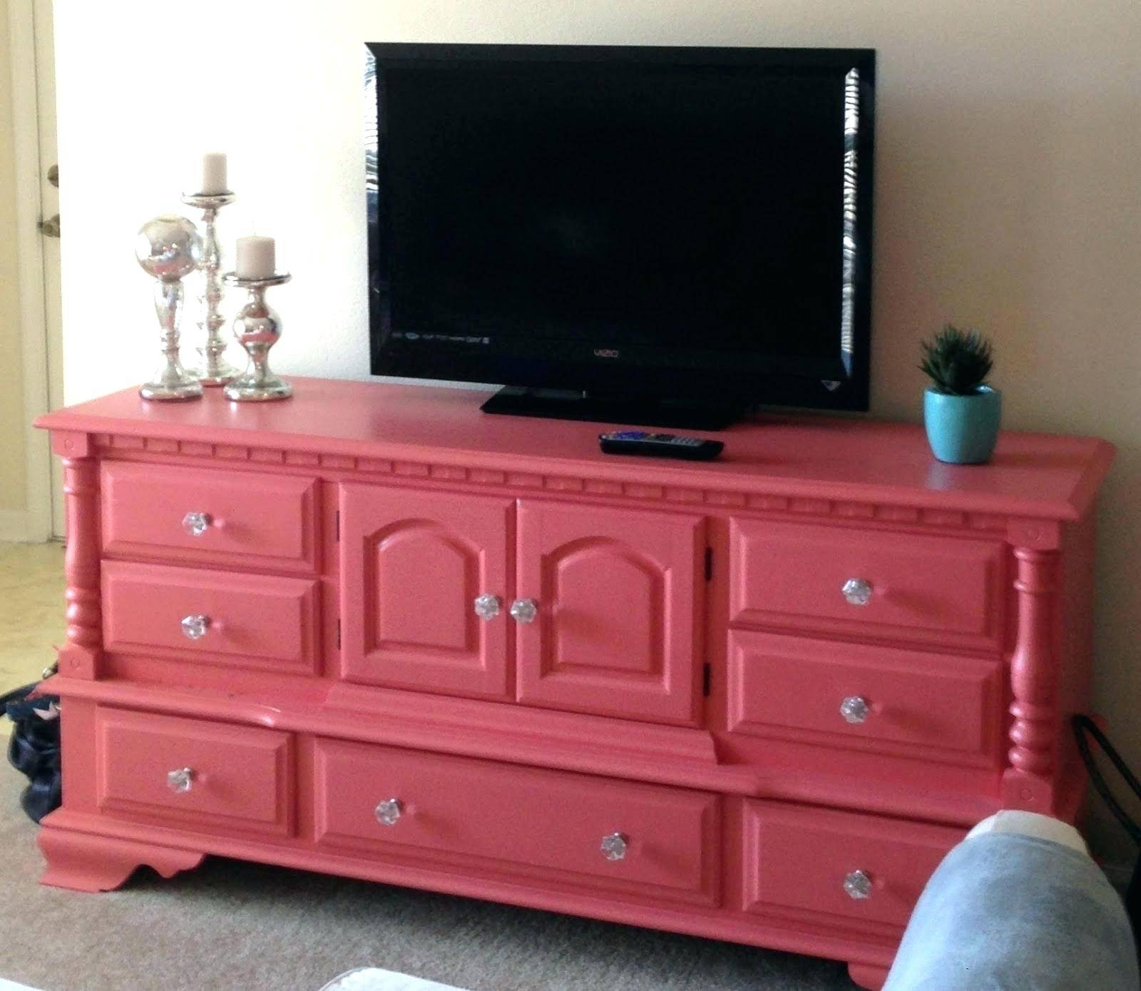 Tv Stand: Fascinating Rustic Red Tv Stand For Living Room. Tv Intended For  Red