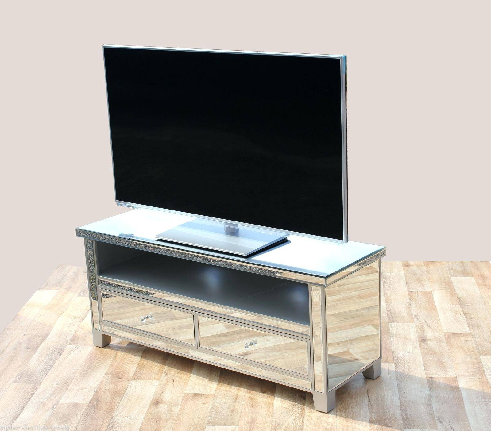 Tv Stand : Full Image For Mirrored Tv Cabinet Living Room pertaining to Mirrored Tv Cabinets (Image 12 of 15)