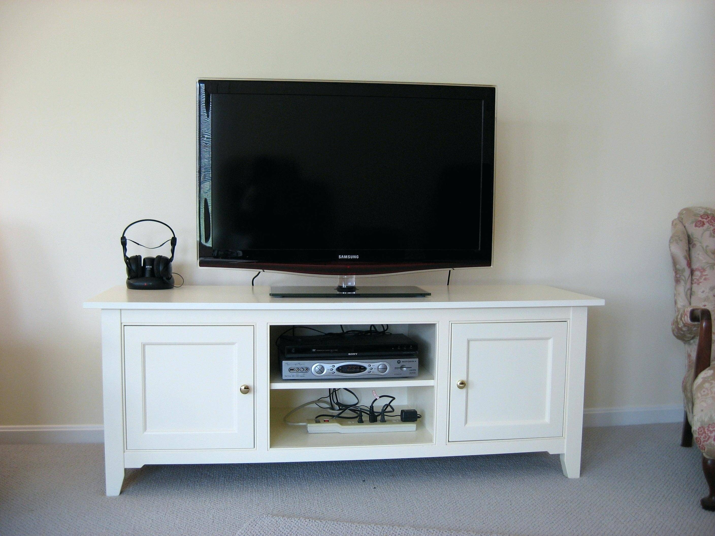 Photos Of White And Wood Tv Stands Showing 11 Of 15 Photos