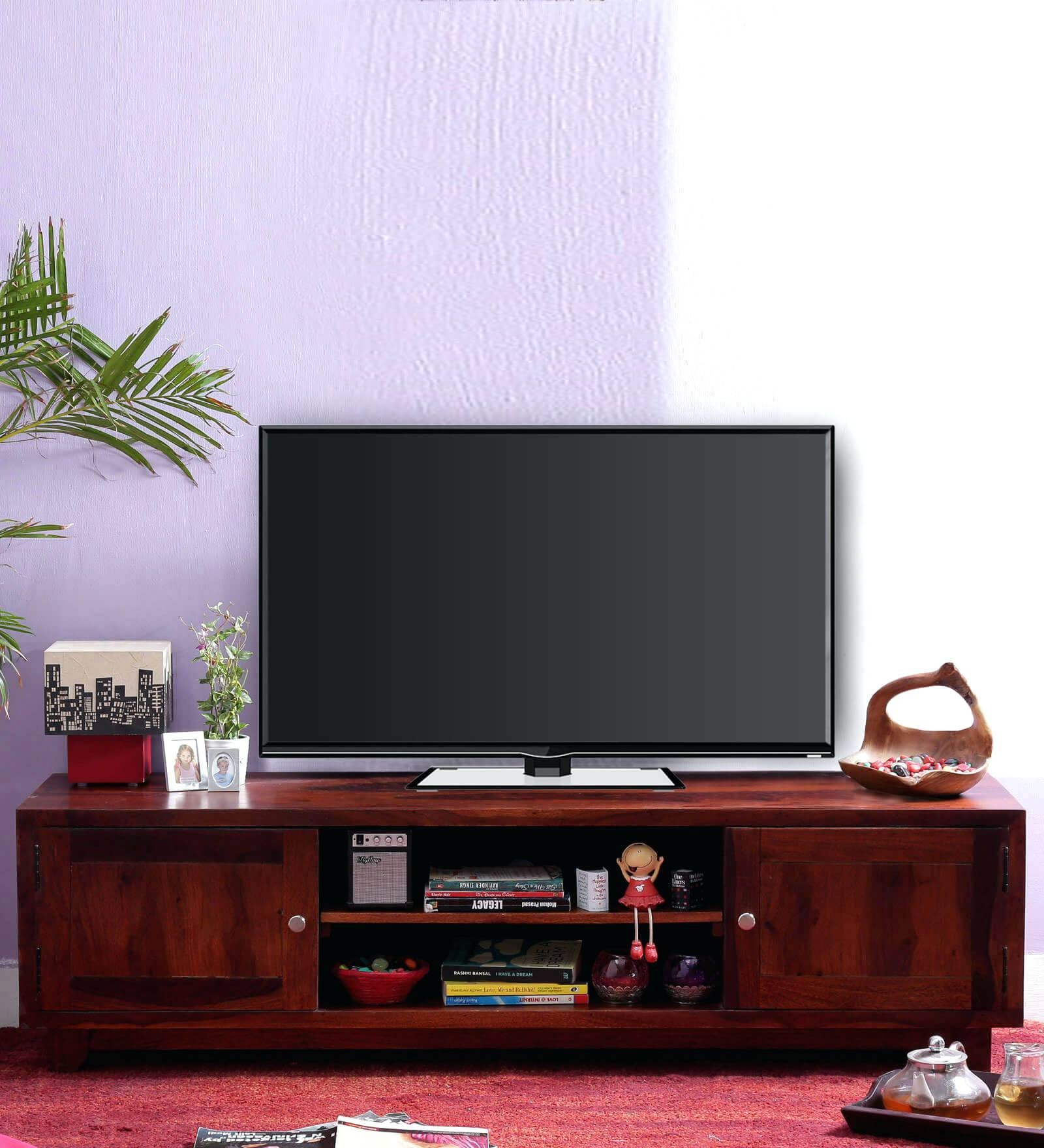 Tv Stand : Furniture Design 60 Cozy Dark Oak Tv Unit Sj027 Dark in Honey Oak Tv Stands (Image 10 of 15)