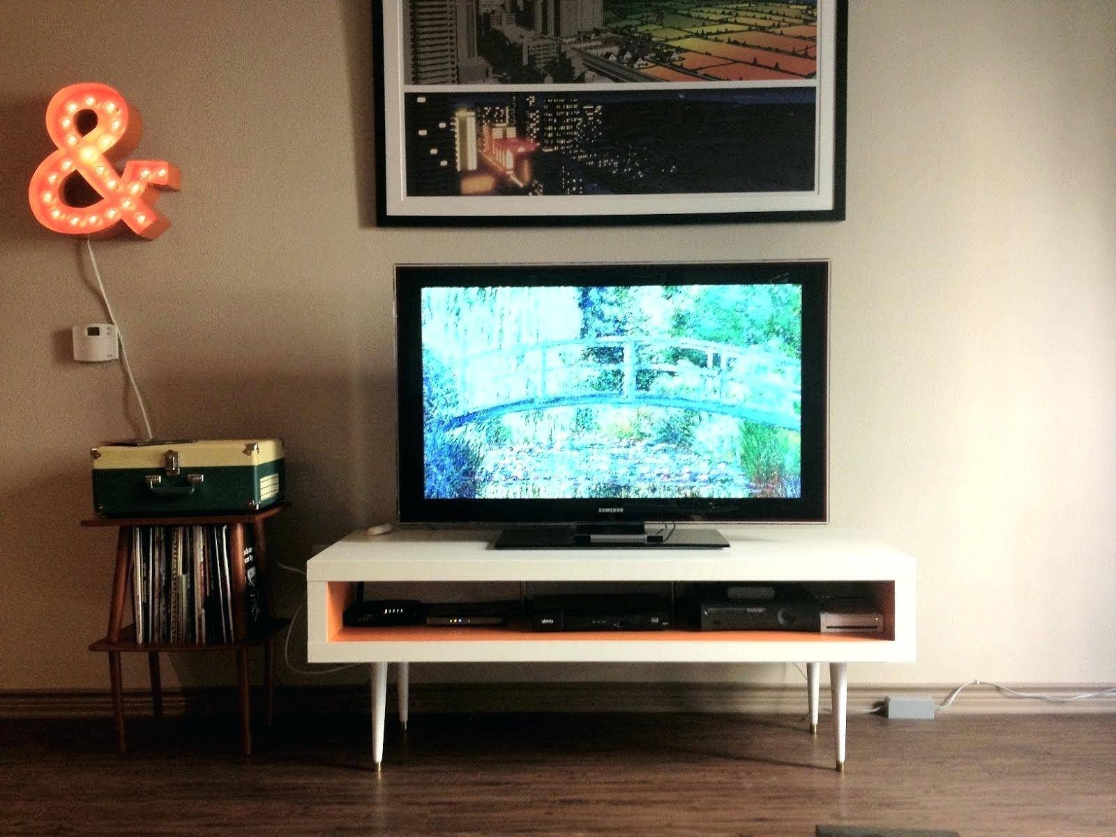 Tv Stand : Furniture Ideas 60 Techlink Facet Ftp100Lo Tv Stand in Ovid White Tv Stand (Image 9 of 15)