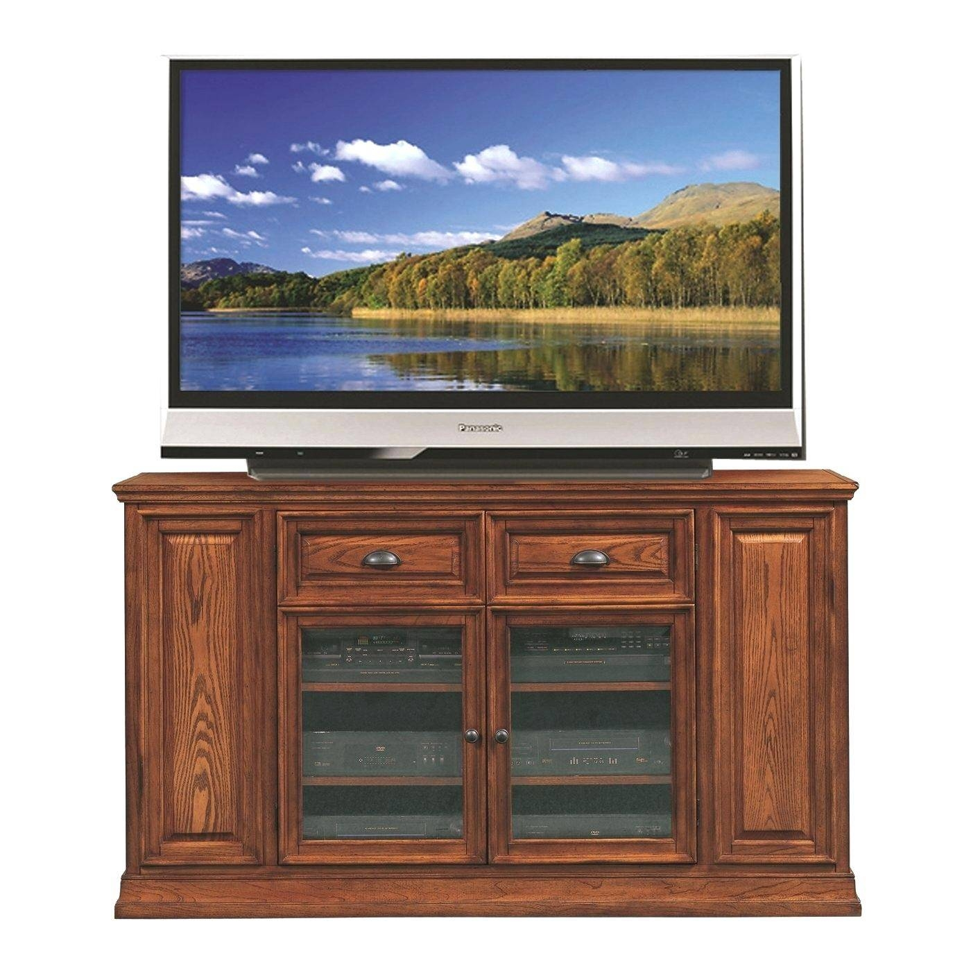 Tv Stand : Furniture Ideas Shaker Corner Tv Stand With Dvd Opening regarding Maple Wood Tv Stands (Image 7 of 15)