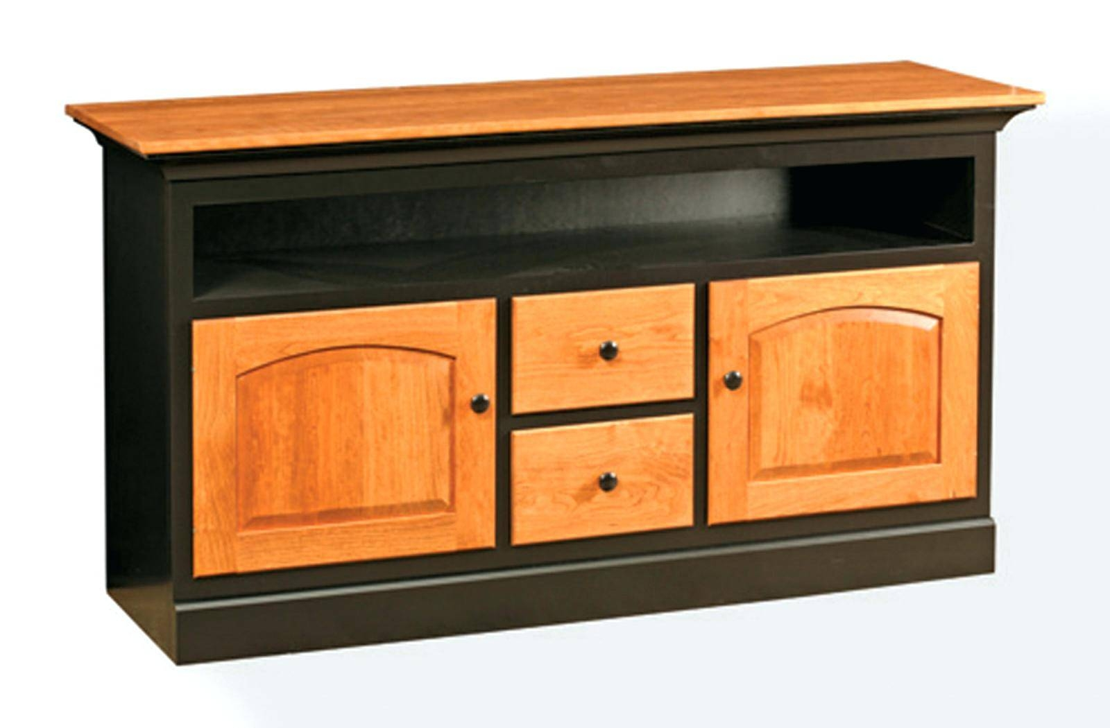 Tv Stand: Gorgeous Maple Wood Tv Stand For Home Space. Furniture for Maple Wood Tv Stands (Image 10 of 15)