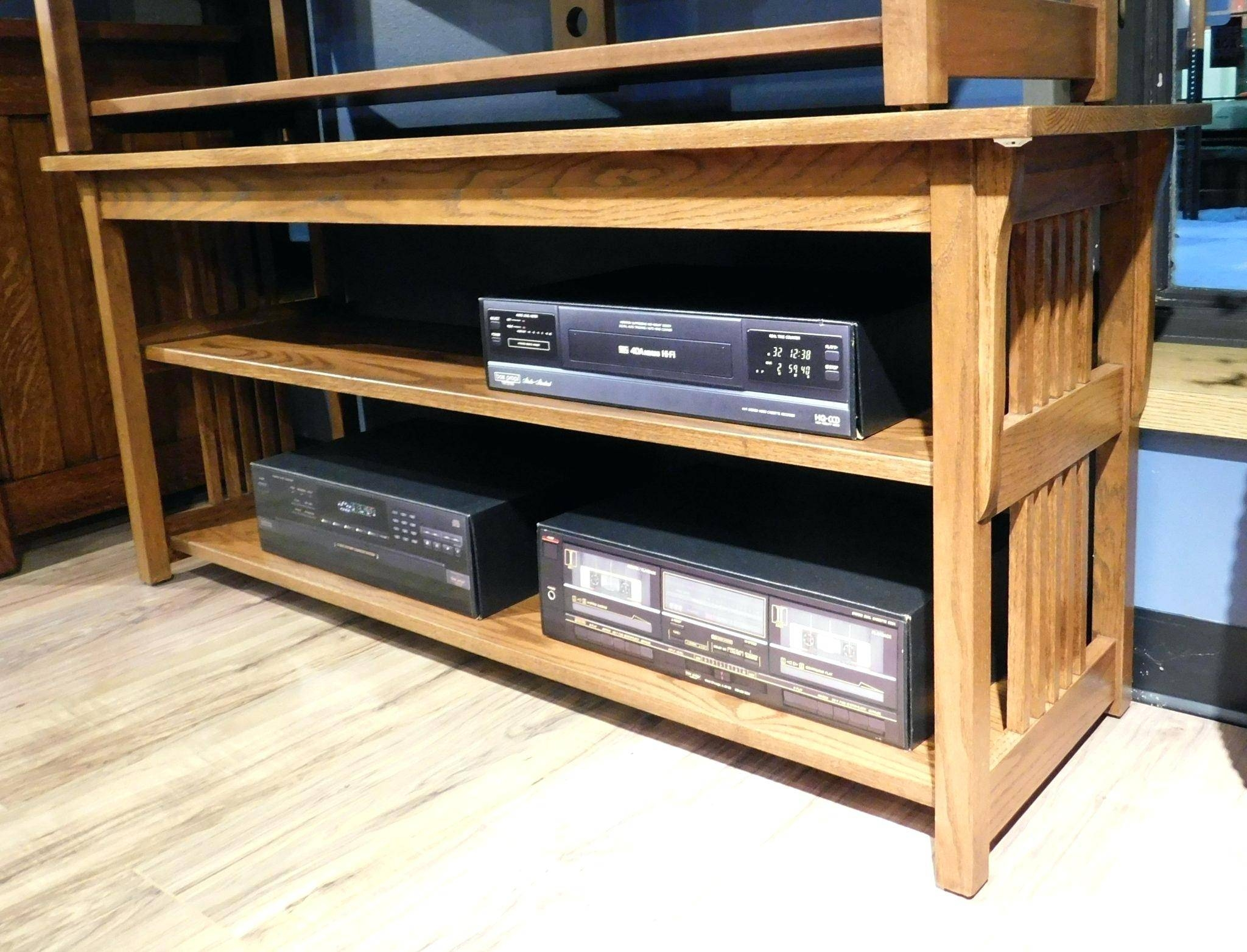 Tv Stand : Gorgeous Synergy System 248 Quad Width 87 Av Cabinet Tv pertaining to Maple Tv Stands (Image 8 of 15)