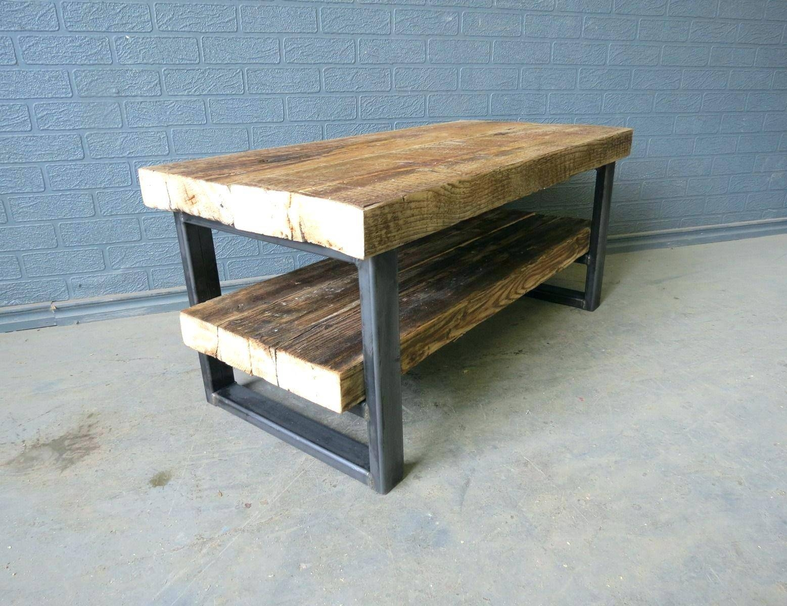 Tv Stand : Industrial Metal Tv Stand 40 Terrific Appealing pertaining to Reclaimed Wood and Metal Tv Stands (Image 14 of 15)