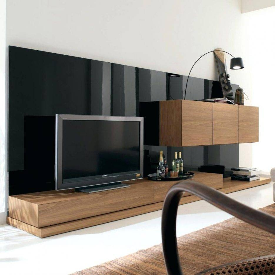 Tv Stand : Innovative Low Pallet Media Standlong Black Tv Stand throughout Extra Long Tv Stands (Image 12 of 15)