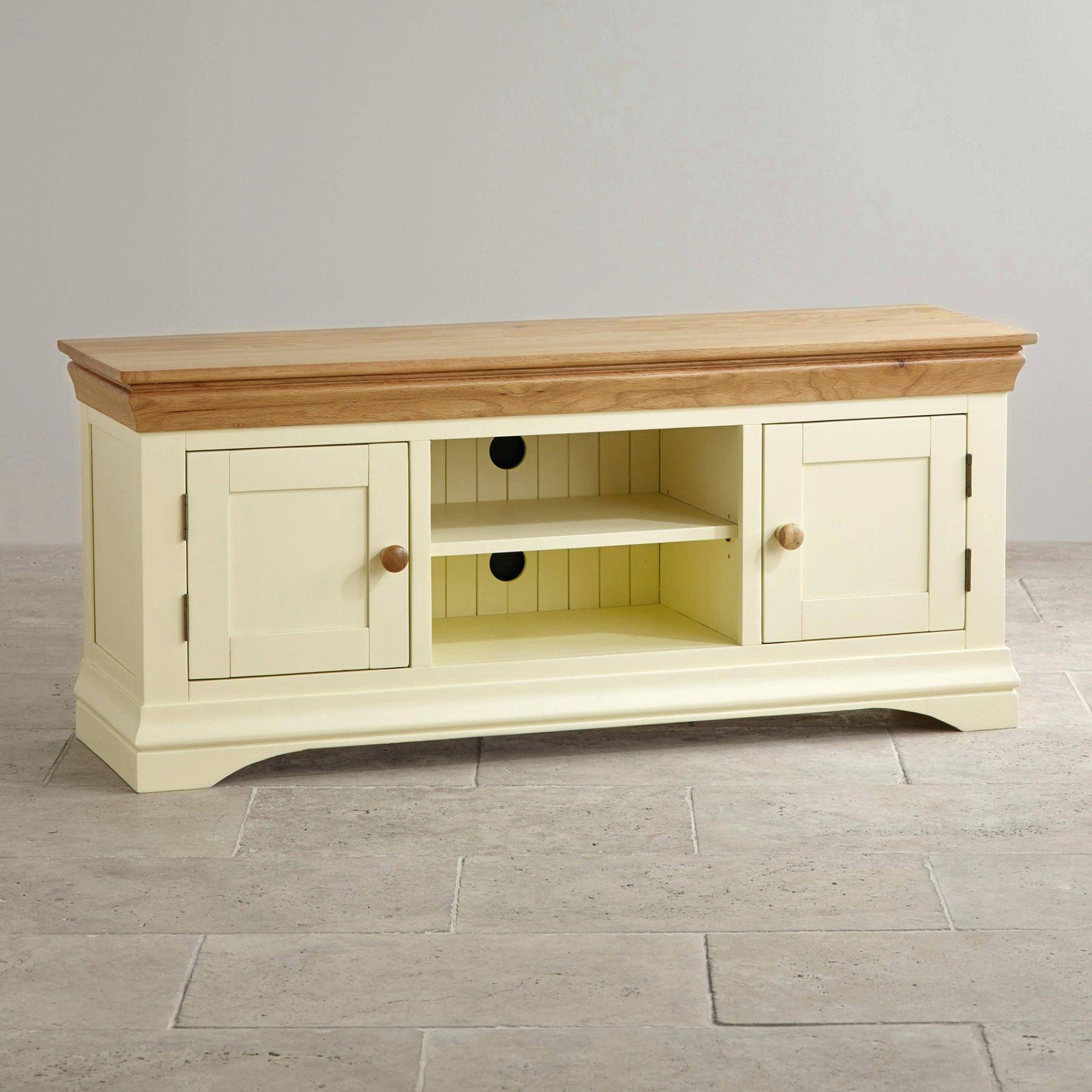 Tv Stand : Large Size Of Tv Standsimpressiveolid Wood Tvtands With Regard To Country Style Tv Cabinets (View 13 of 15)