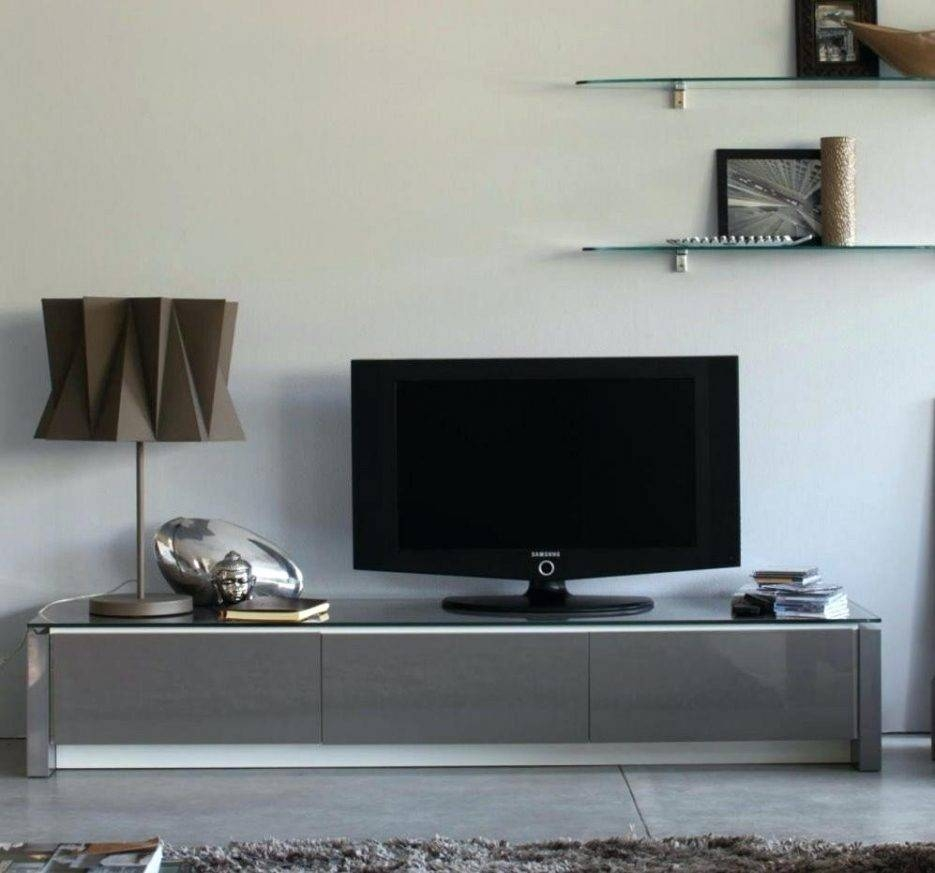 Tv Stand : Low Profile Tv Stand Ikea Impressive Grey Wood Tv Stand For Long Low Tv Cabinets (View 13 of 15)