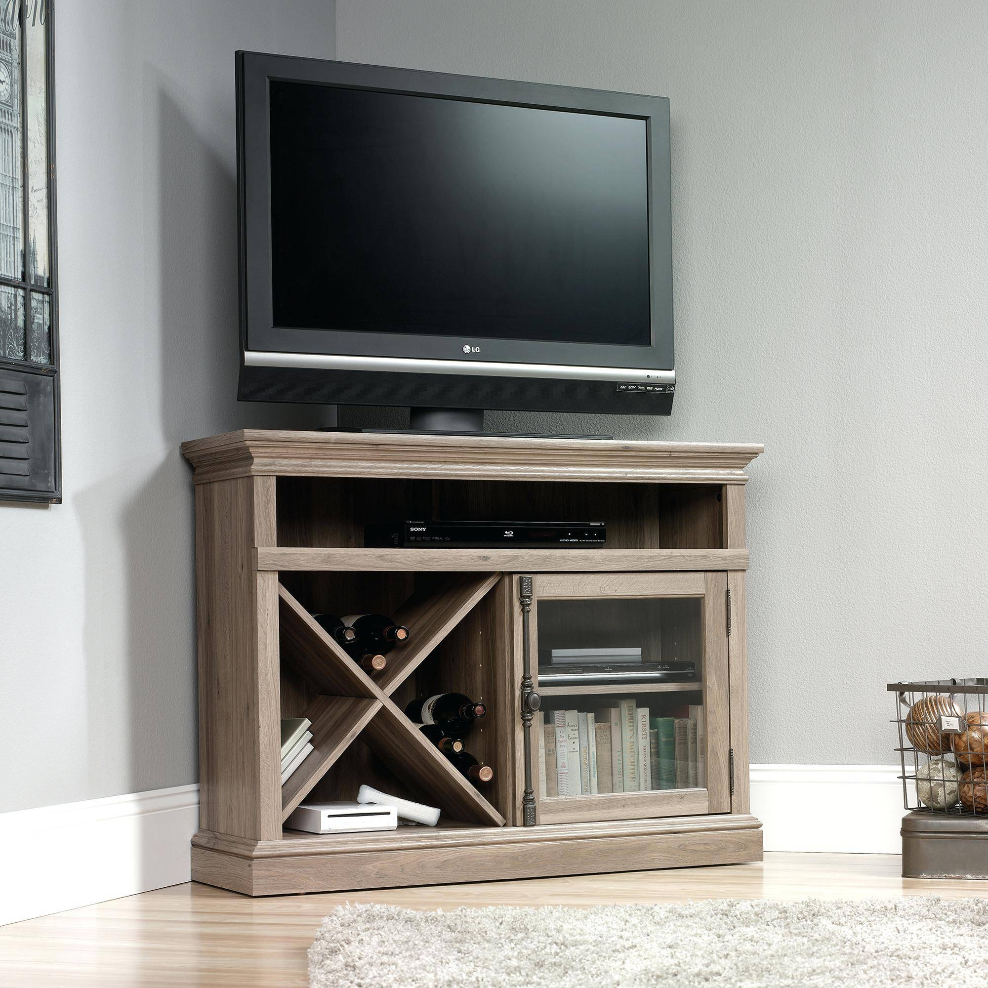 Tv Stand : Modern 121 Wood Corner Tv Table Stupendous Wood Corner in Contemporary Corner Tv Stands (Image 13 of 15)