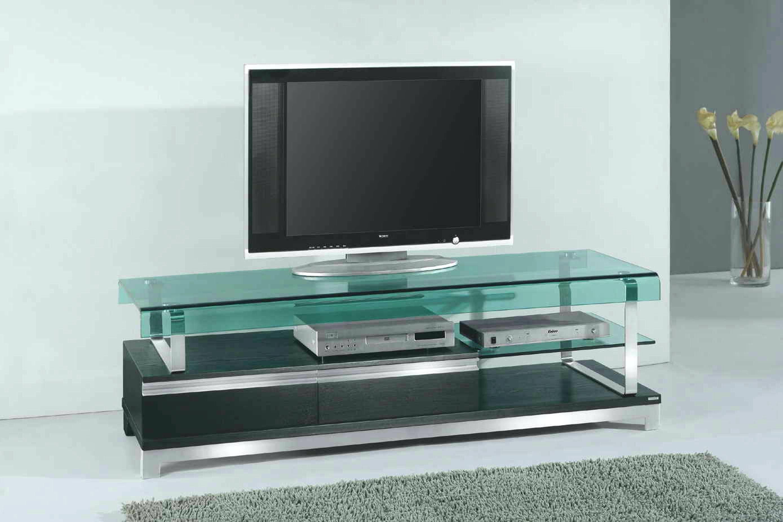 Tv Stand : Modern Black Glass Tv Stand 40 Glass Tv Stand With within Modern Glass Tv Stands (Image 14 of 15)