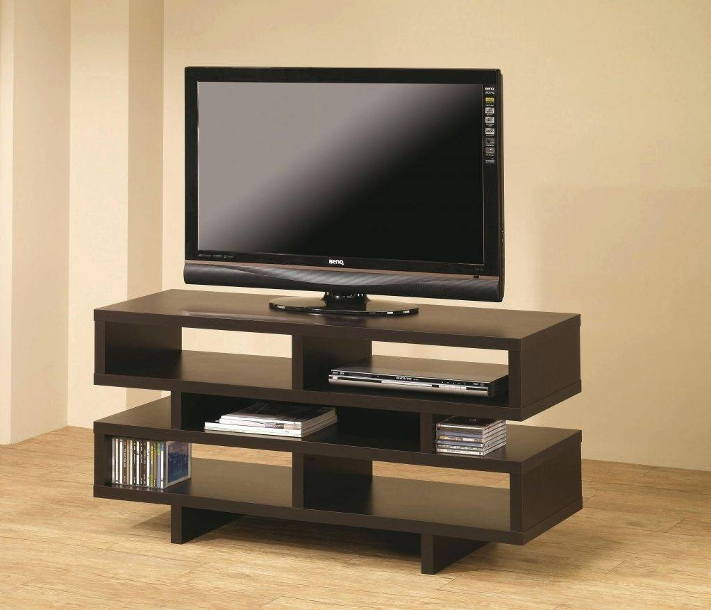 Tv Stand ~ Modrest Crest Contemporary White Tv Standvig Throughout Unique Tv Stands For Flat Screens (View 7 of 15)