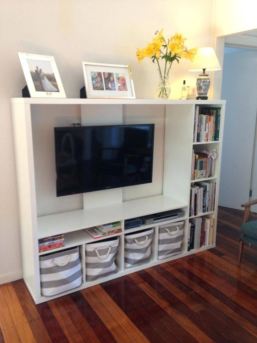 Tv Stand : Playroom Tv Cabinet Superb Ikea Lapland Tv Unit With regarding Tv Stands With Baskets (Image 10 of 15)