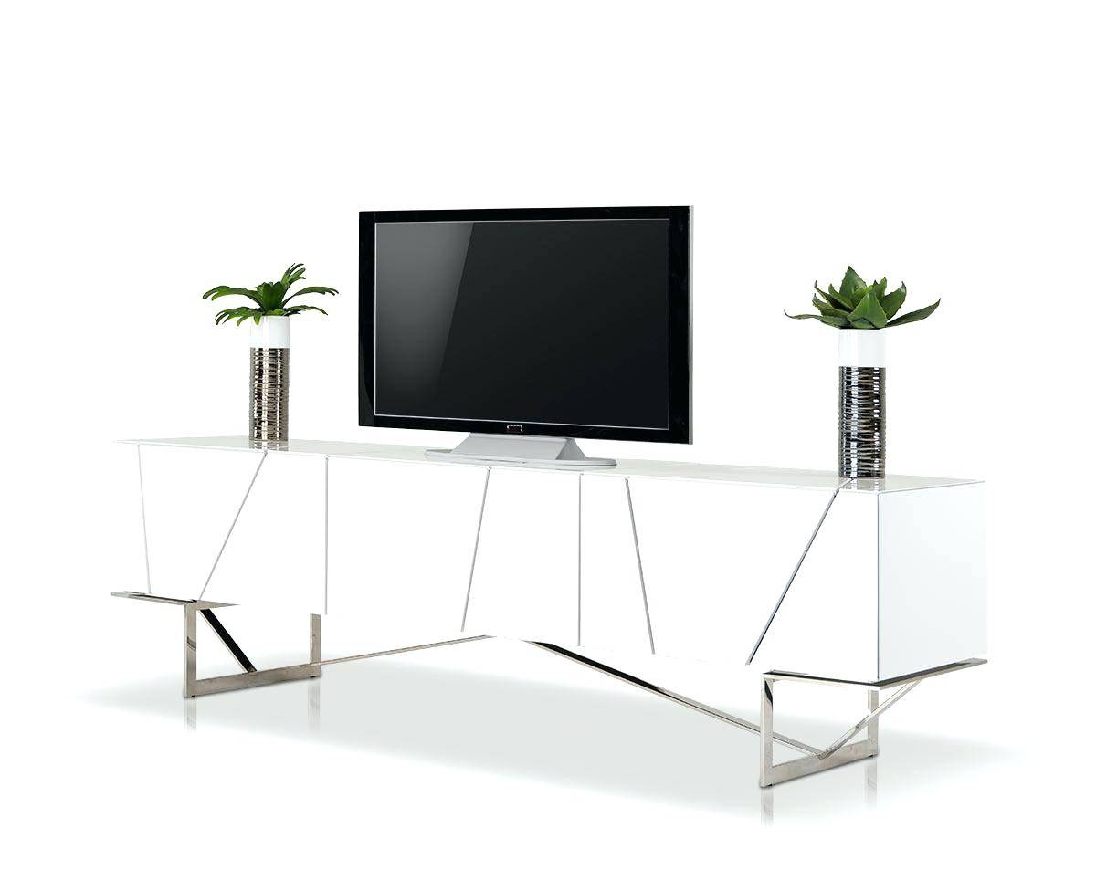 Tv Stand : Rostock Modern White Tv Stand 114 Mesmerizing Rostock pertaining to Contemporary White Tv Stands (Image 14 of 15)