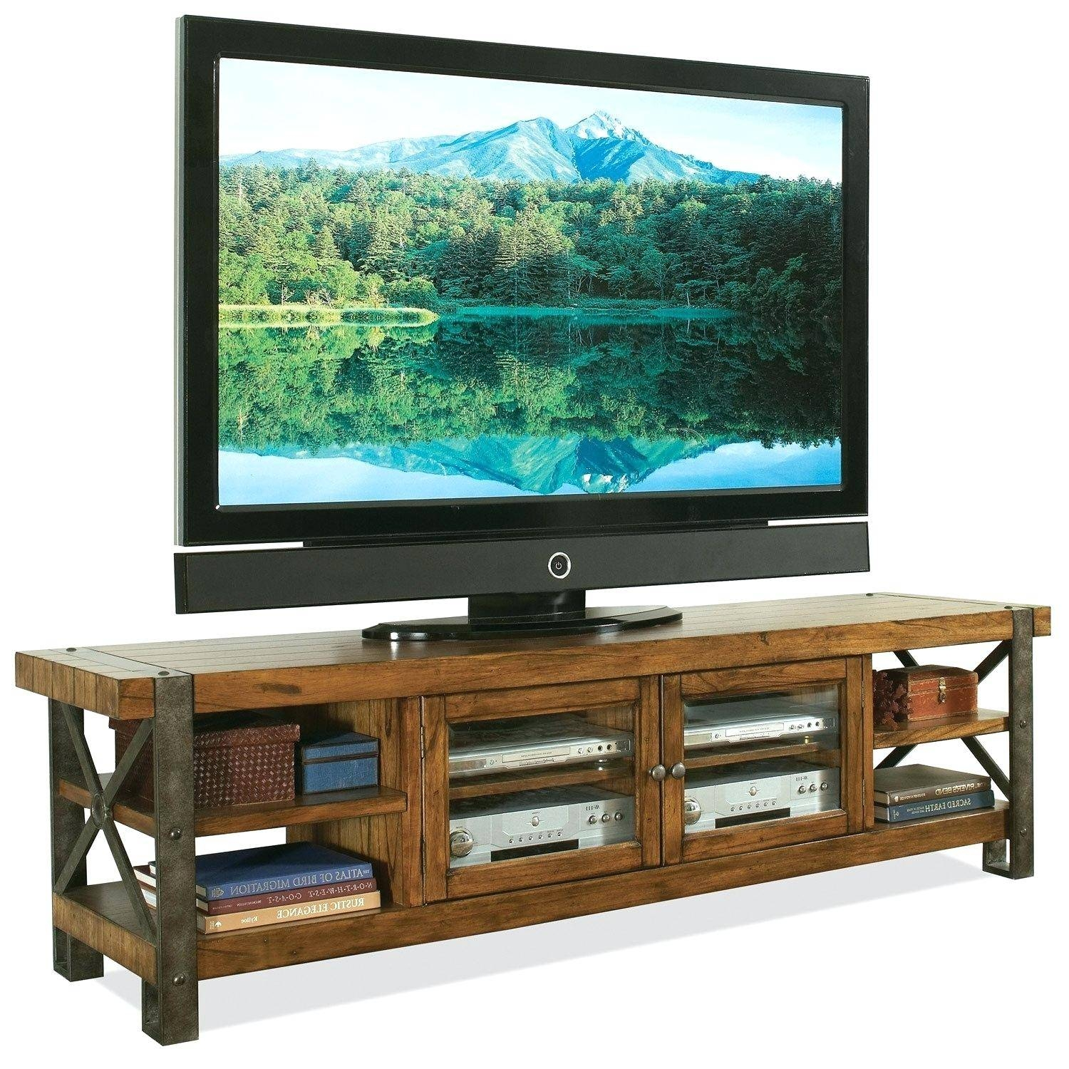 Tv Stand : Rustic Tv Stand Outlaw Furniture In French Country Tv Stands (View 7 of 15)