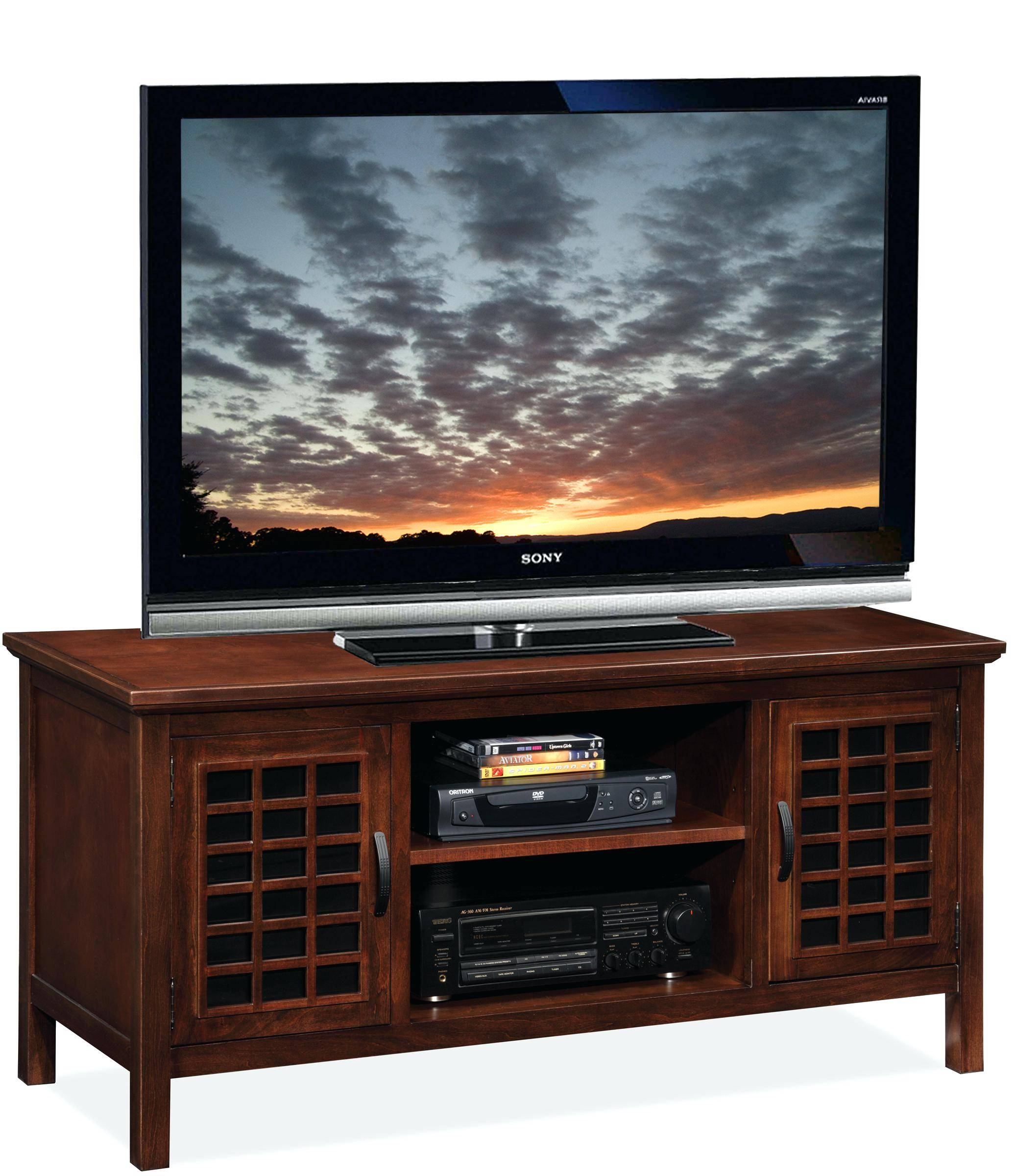 Tv Stand : Sauder Tv Stands Cherry Wood Harper Display Cabinet intended for Cherry Wood Tv Cabinets (Image 13 of 15)