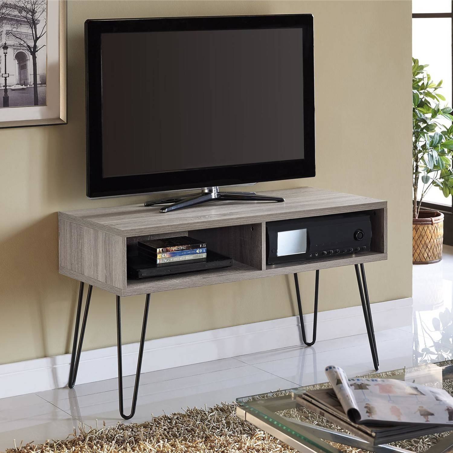 Tv Stand Small Space | Nana's Workshop with regard to Tv Stands For Small Spaces (Image 12 of 15)