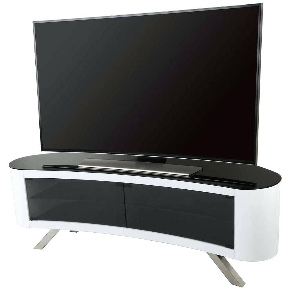 Tv Stand : Superb Hover To Zoom Hover To Zoom Tv Stand For Living intended for Ovid White Tv Stand (Image 15 of 15)