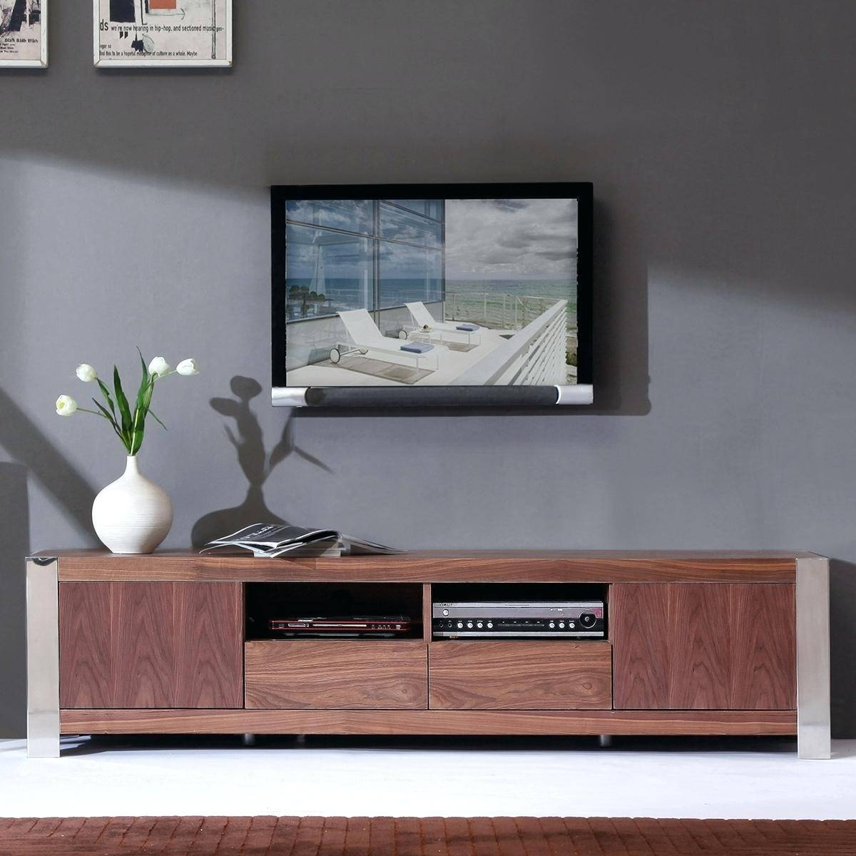 Tv Stand: Terrific Contemporary Tv Stand For Home Furniture for Contemporary Tv Stands For Flat Screens (Image 13 of 15)