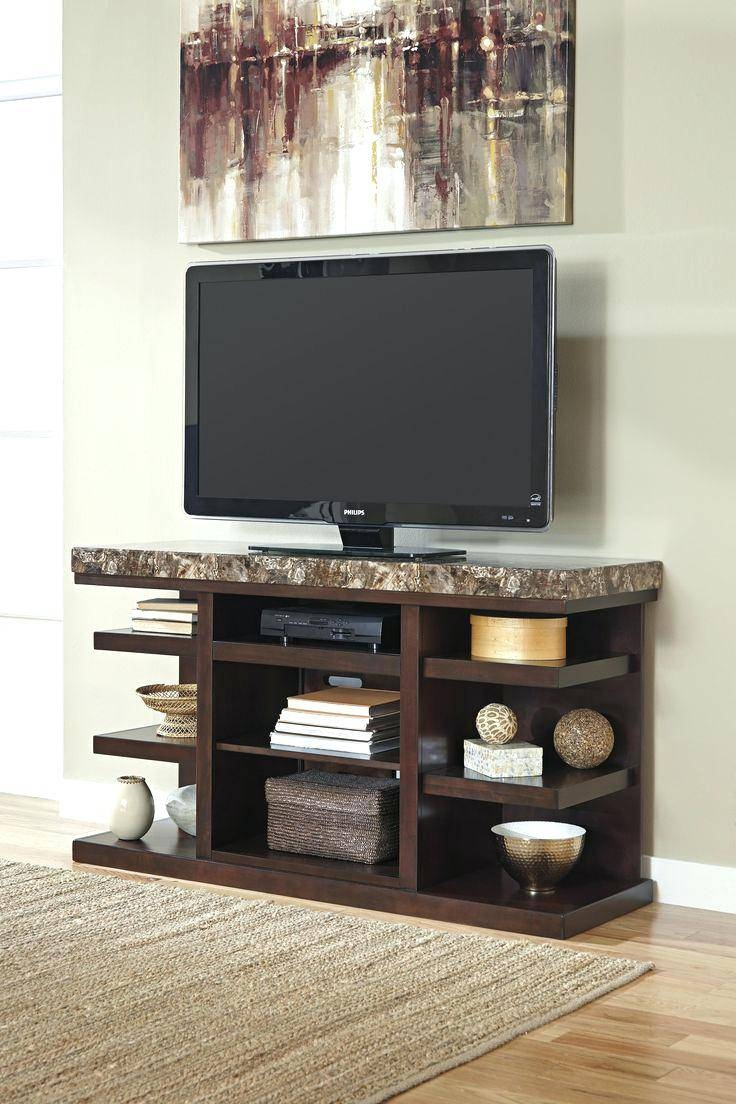 Tv Stand : Thresholdtm Open Shelf Tv Stand Espresso 79 Superb Regarding Open Shelf Tv Stands (View 7 of 15)