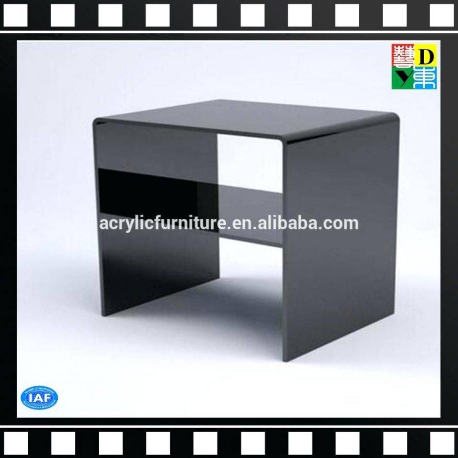 Tv Stand : Trendy Acrylic Tv Stand Table With Shelf Acrylic Tv With Regard To Clear Acrylic Tv Stands (View 3 of 15)