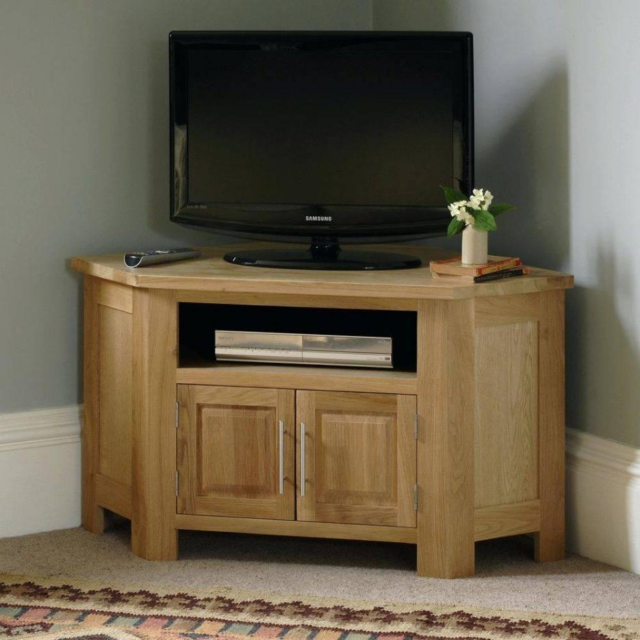 Tv Stand: Trendy Corner Tv Stand Wood Design Ideas. Corner Tv within Large Corner Tv Stands (Image 12 of 15)