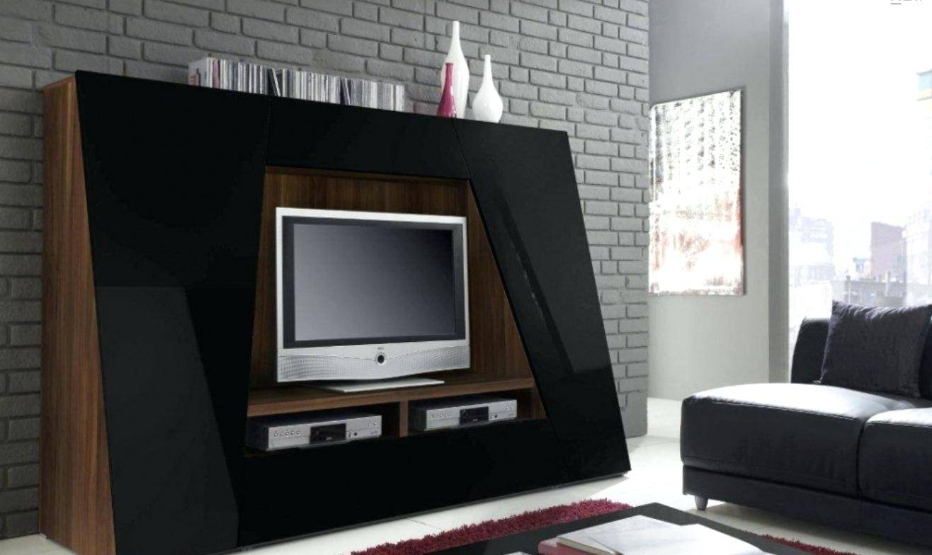 Tv Stand : Tv Stands Cool Tv Stand With Side Shelves Entertainment pertaining to Unusual Tv Cabinets (Image 13 of 15)