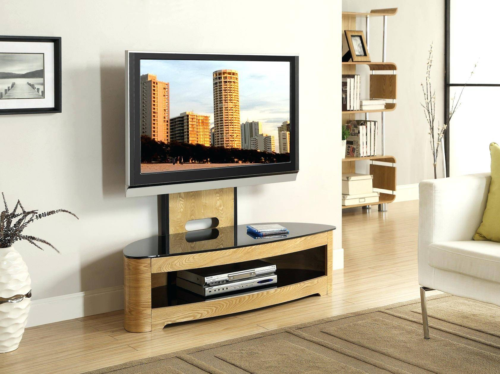 Tv Stand : Tv Stands Tv Stand Oak Oak Tv Stands For Flat Screen In Trendy Tv Stands (View 12 of 15)