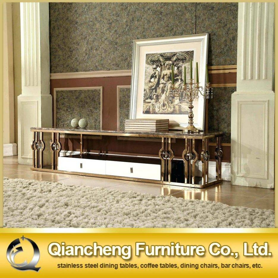 Tv Stand : Urban Gold 76 Inch Tv Stand 10 Tt 01 Gold Trendy Tt 01 Intended For Gold Tv Cabinets (View 3 of 15)