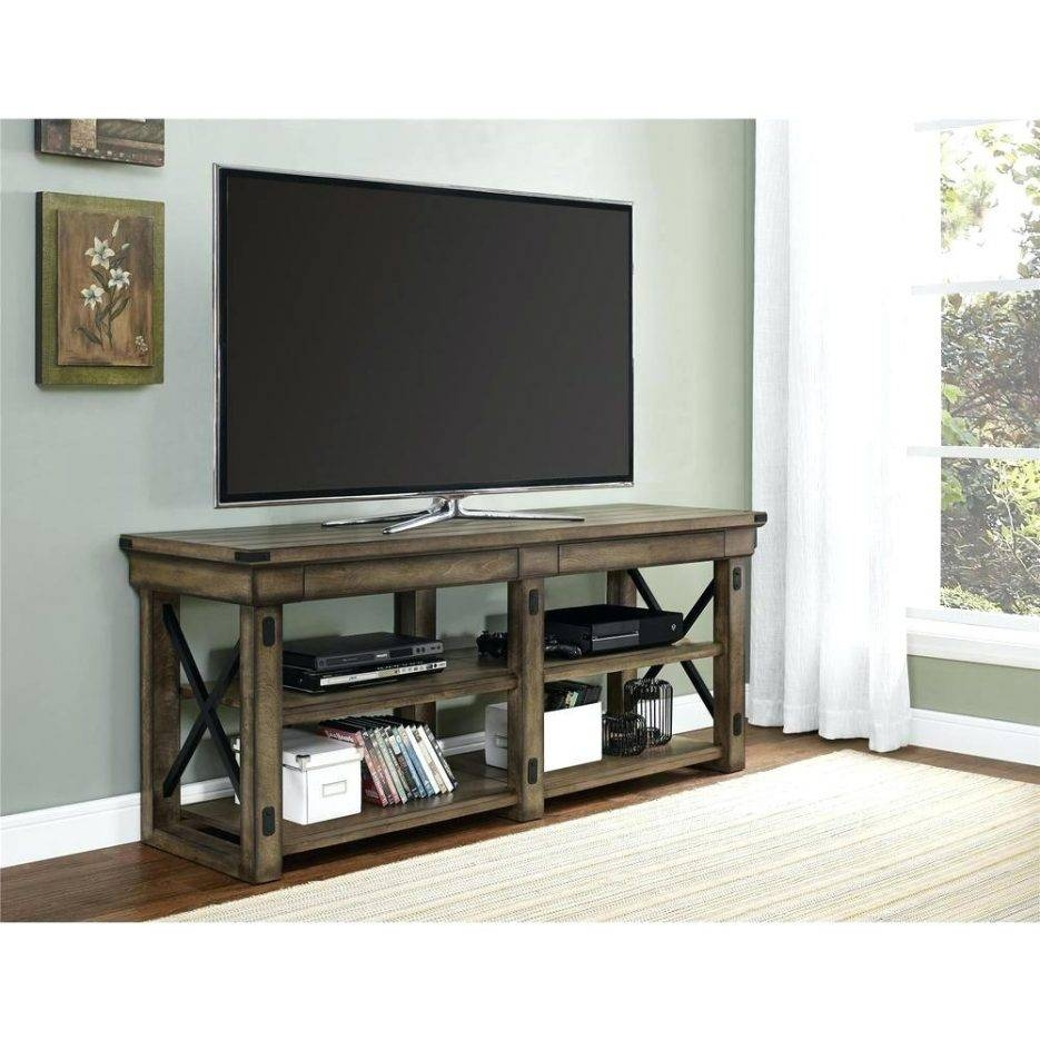Tv Stand : Wildwood Rustic Gray Oak Storage Entertainment Center within Maple Wood Tv Stands (Image 9 of 15)