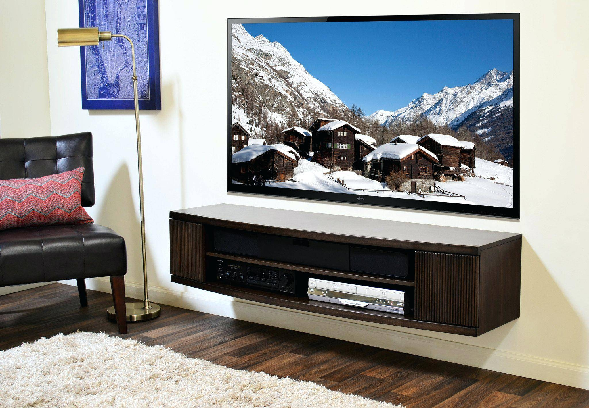 Tv Stand: Winsome Rounded Tv Stand Design Ideas. Rounded Wood Tv within Tv Stands With Rounded Corners (Image 14 of 15)