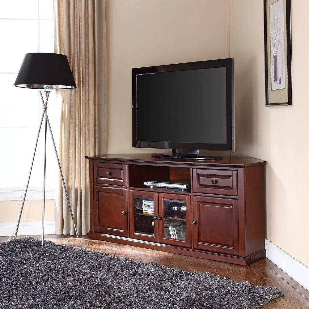 Tv Stands - Av Accessories - The Home Depot pertaining to Tv Stands for Tube Tvs (Image 9 of 15)