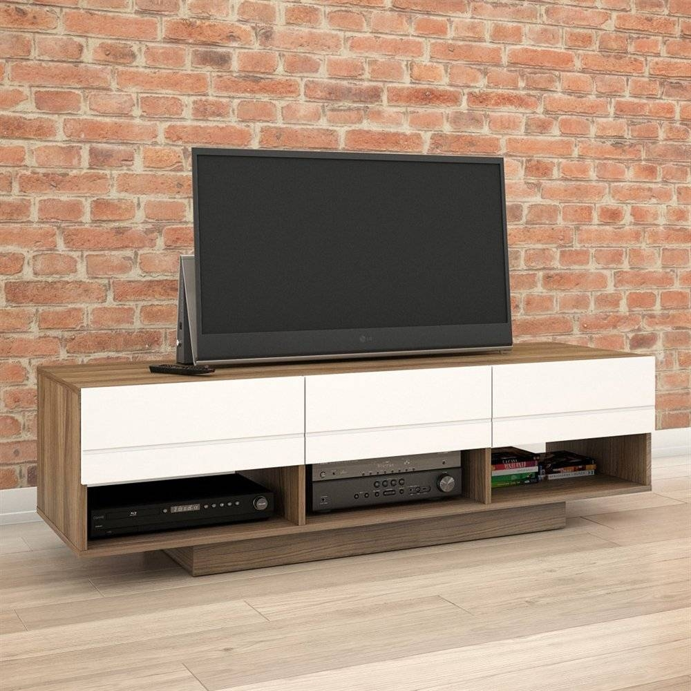 Tv Stands - Corner, Fireplace & More | Lowe's Canada inside 24 Inch Deep Tv Stands (Image 10 of 15)