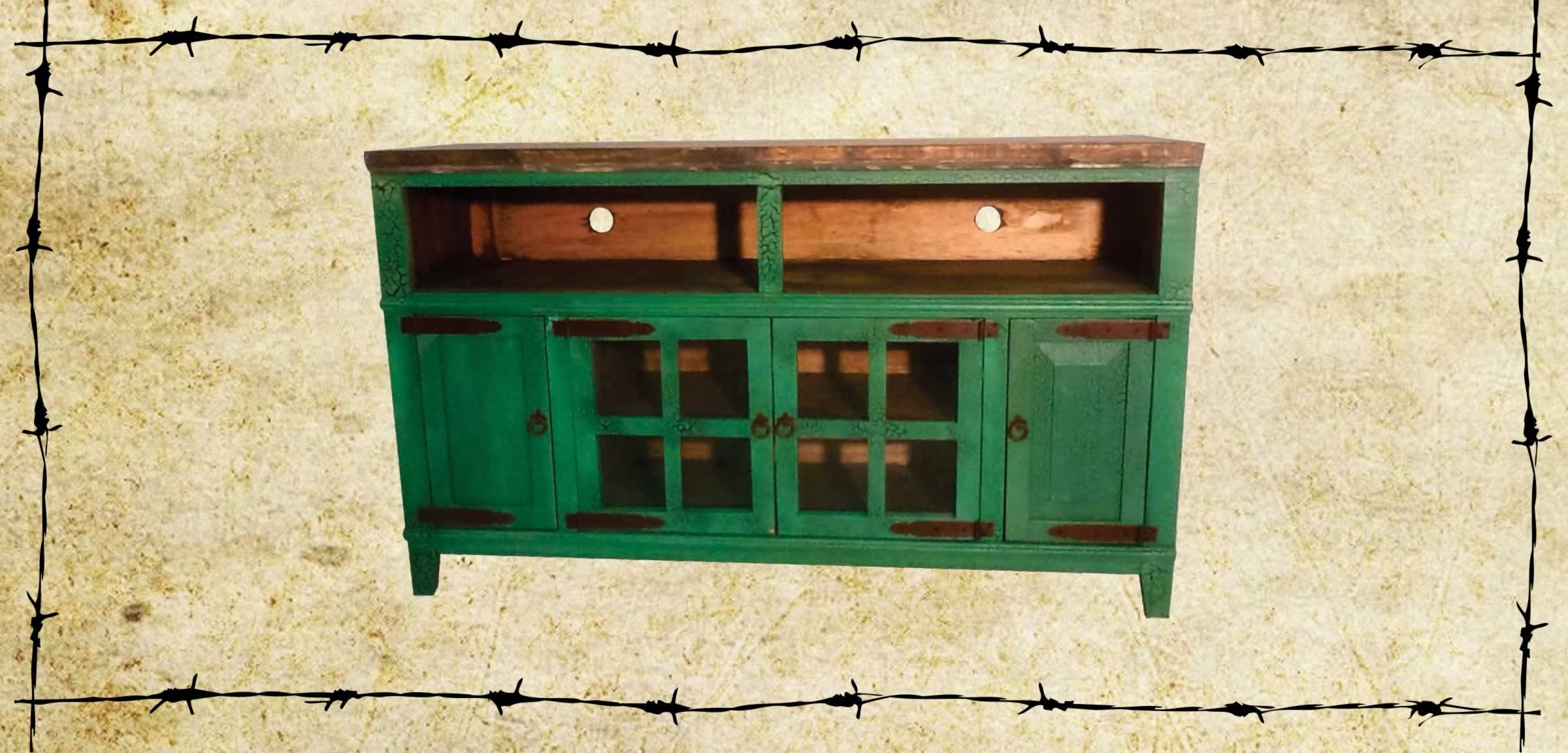 Tv Stands/dressers/chests - Ricky Rustics inside Green Tv Stands (Image 15 of 15)