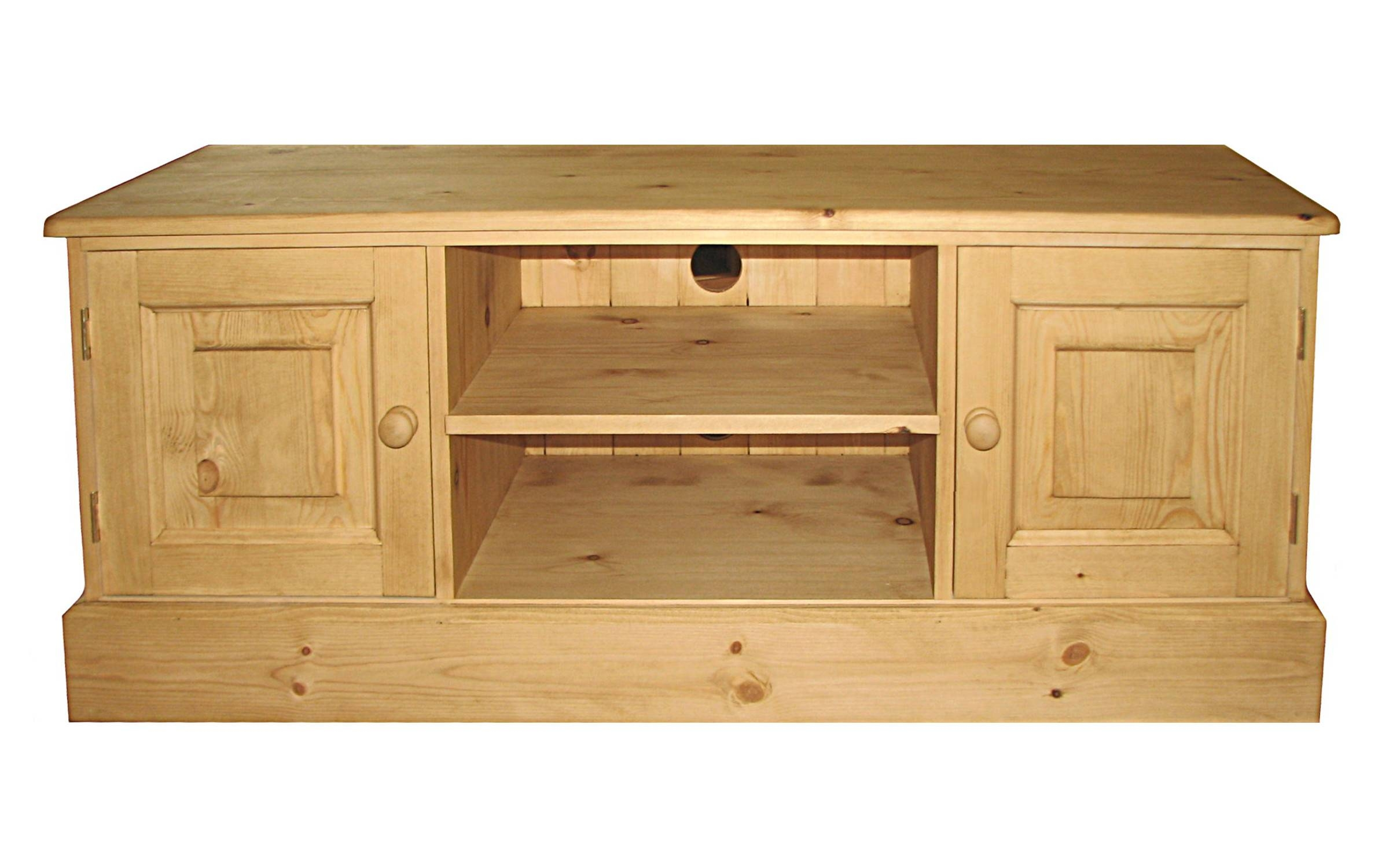 Tv Stands – Kerris Farmhouse Pine throughout Pine Tv Unit (Image 13 of 15)