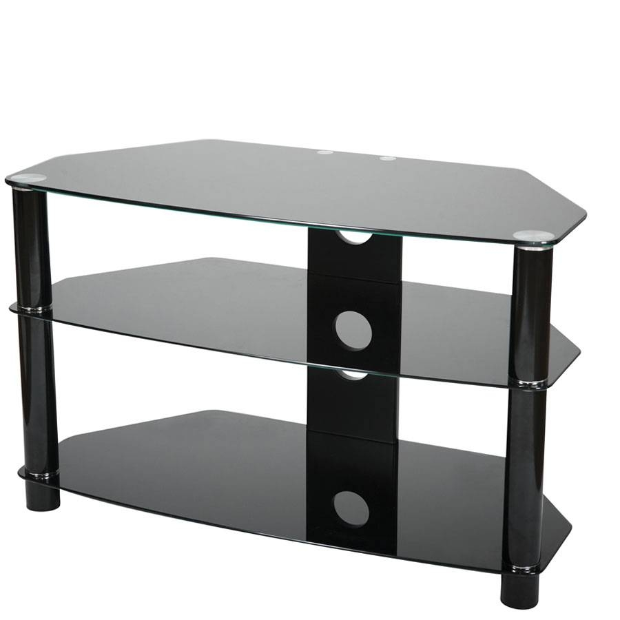 Tv Stands, Tv & Audio Fittings, Electrical, Diy Accessories With Smoked Glass Tv Stands (View 13 of 15)