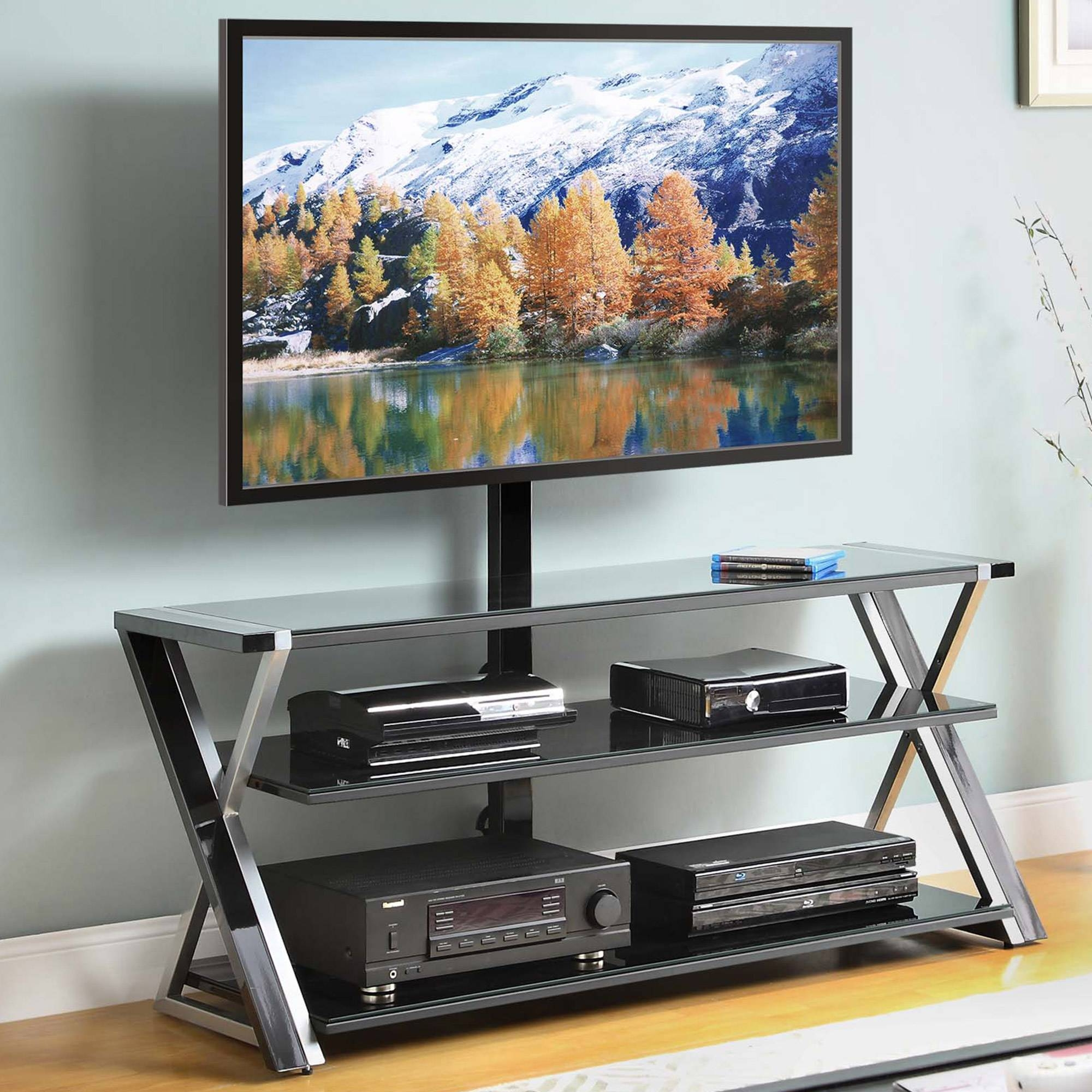 Tv Stands - Walmart inside Tv Stands for Tube Tvs (Image 11 of 15)