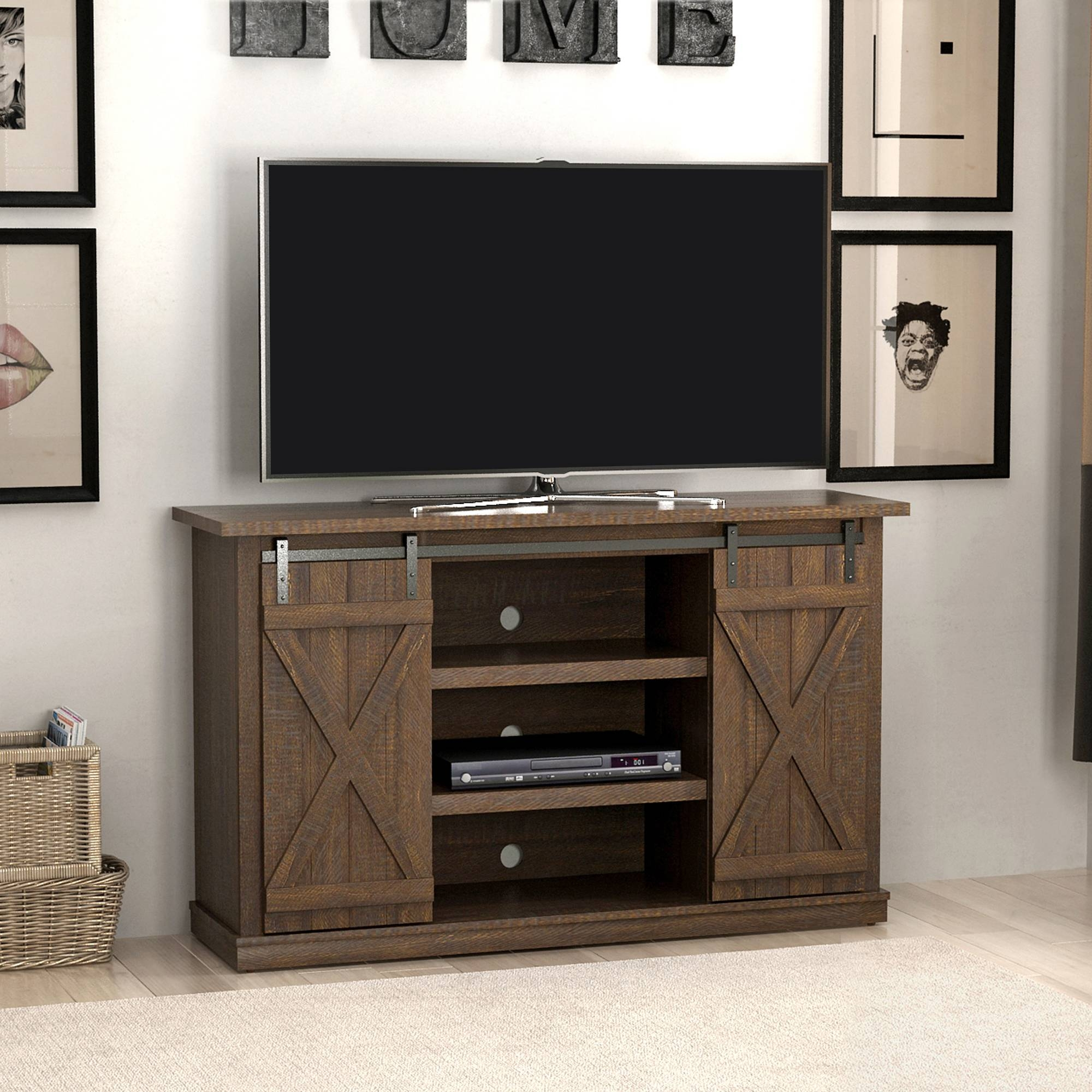 Tv Stands - Walmart throughout Skinny Tv Stands (Image 15 of 15)